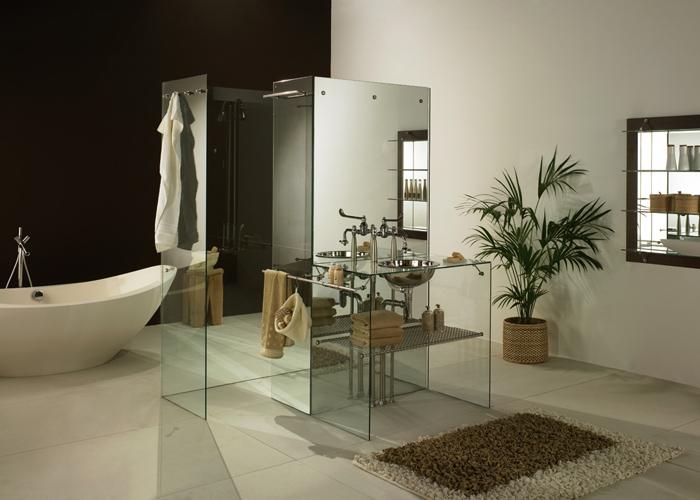 Freistehende Dusche Glas : Freistehende Duschen Glas Rapp – Duschkabinen, Glast?ren